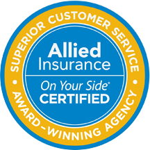 Blake Elliott Insurance is an Allied Insurance Award-Winning Agency for Superior Customer Service
